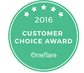 oneflare-2016-customer-choice-award-reviews