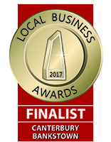 2017 Finalist Canterbury Bankstown Local Business Awards